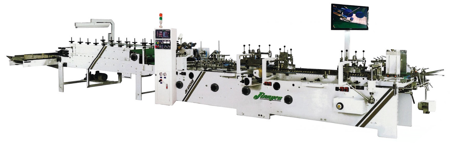 JK-650AB Automatic Folder Gluer Machine