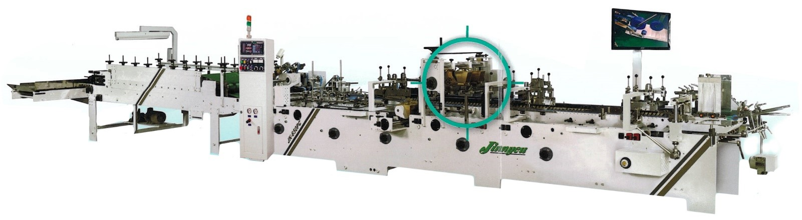 JK-650PC Automatic Folder Gluer Machine